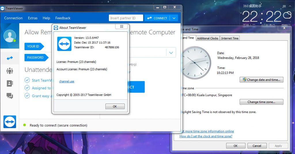 旧:远程控制 TeamViewer 13 电脑版(7天破解过期+5分钟限制)(已测试,四个月了!)