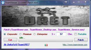 旧:远程控制TeamViewer 13 电脑版(7天破解过期+5分钟限制)(已
